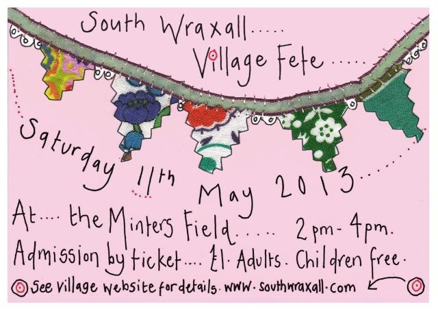South Wraxall Fete Invitation