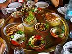 Leb food  meze