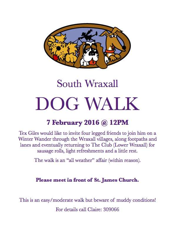 Dog Walk Feb 2016